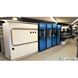 Vysokokapacitní automat pro kompletní servis lyží MONTANA Crystal Diamond